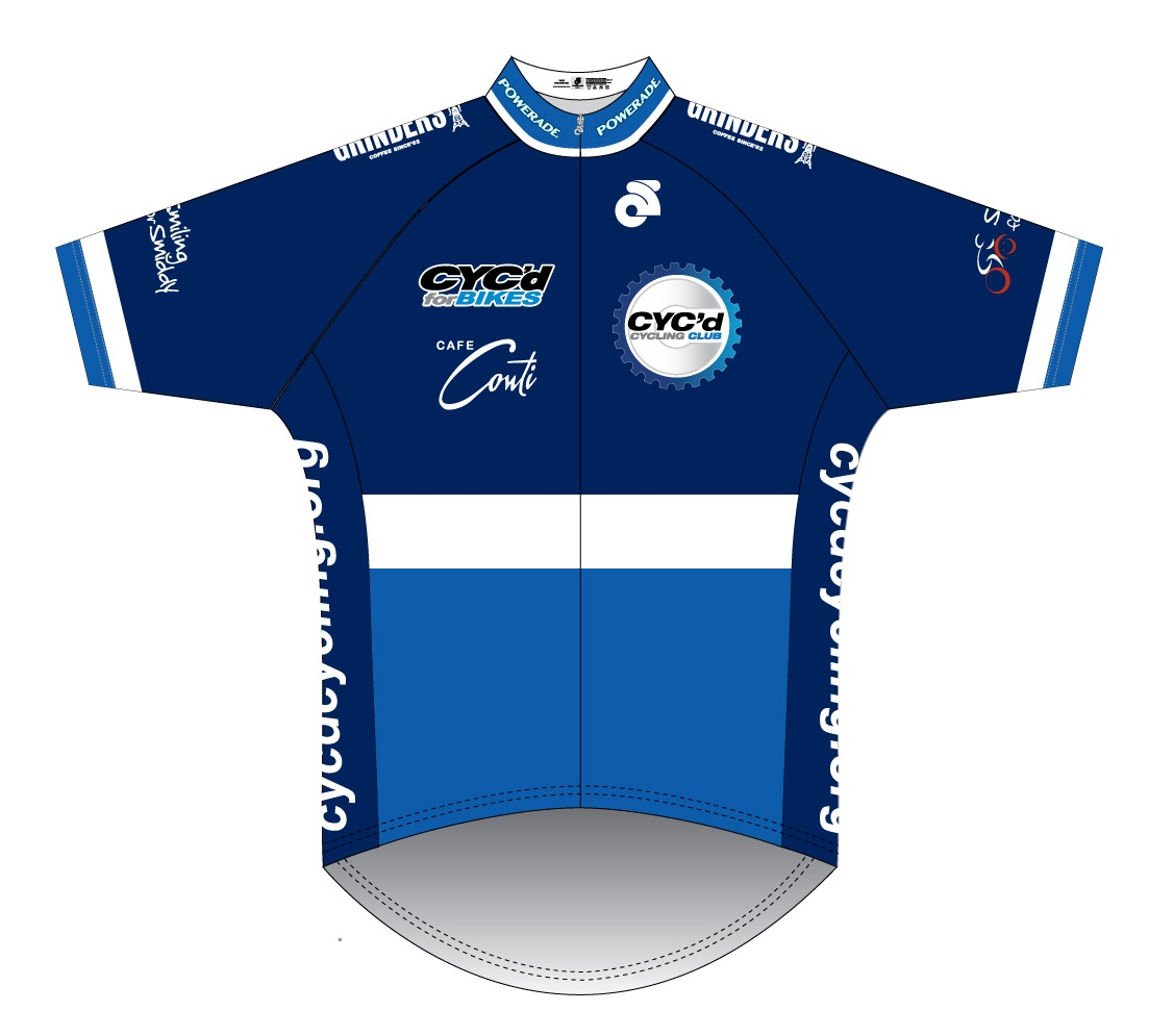 Cyc'd Cycling Club jersey