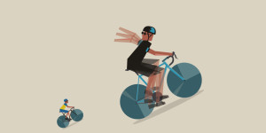 Spin fast or slog slowly?