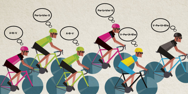 Can Game Theory explain bike racing?