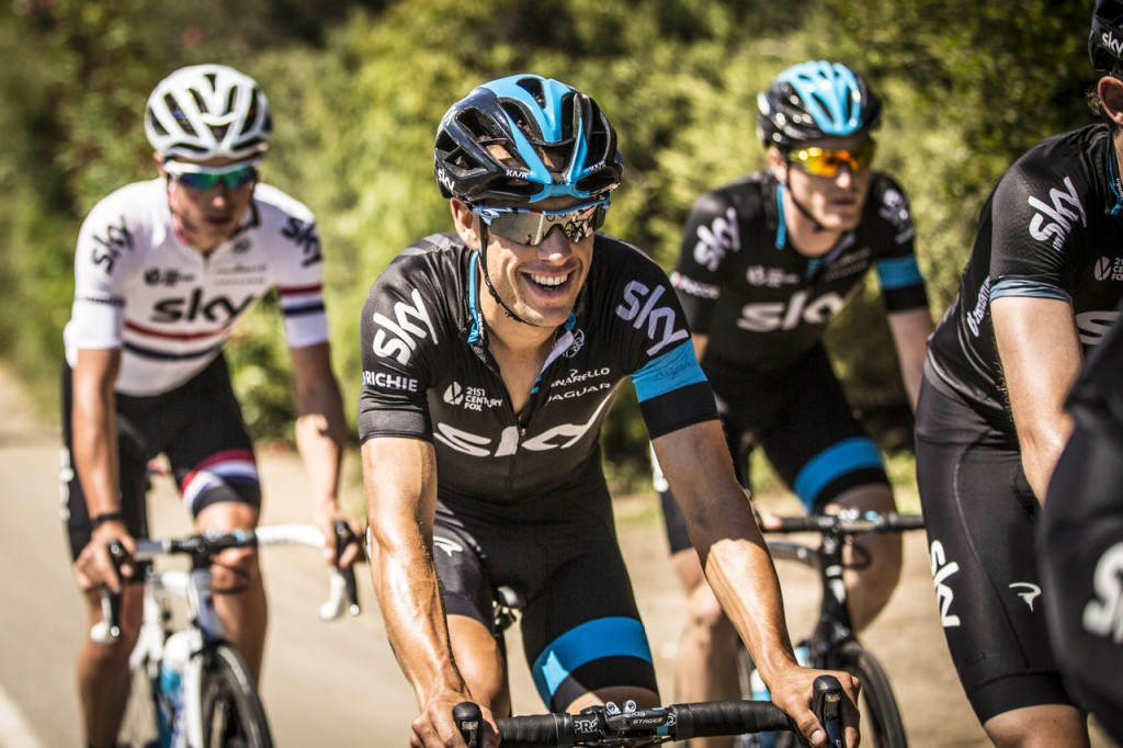 Richie Porte (Team Sky) ready for battle at this year's TDU