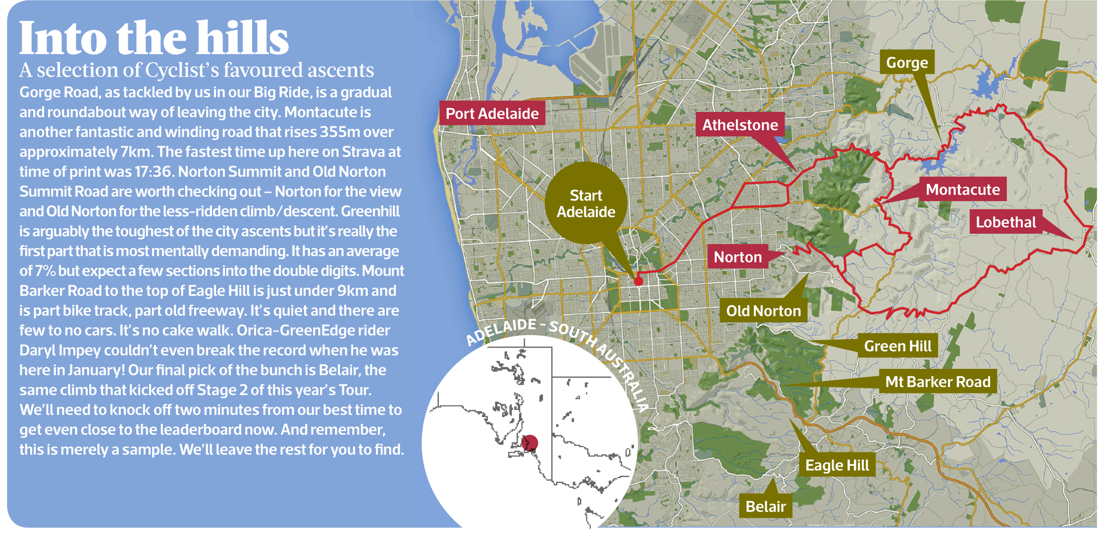 Map Of Australia Nz.Adelaide Map 13 Cyclist Australia Nz