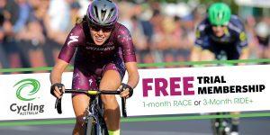 Cycling Australia trial membership offer