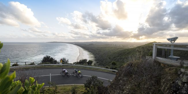 Winter cycling in Bryon Bay | Cyclist x Lifecycles Travel