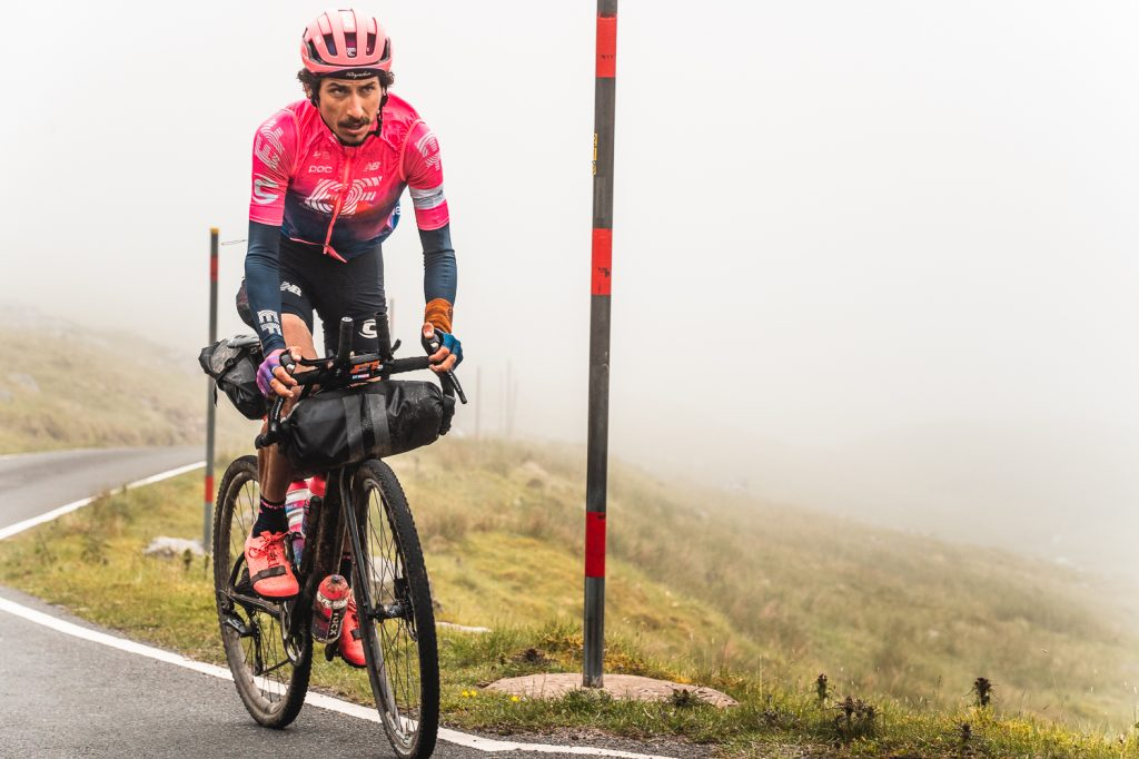 Lachlan Morton rides the GBDuro