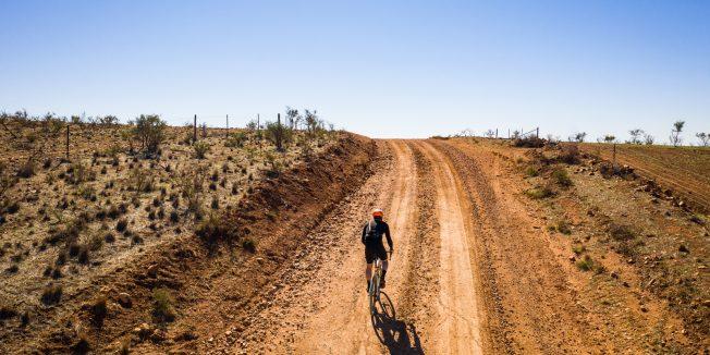 Cyclist #41: Mawson Trail, Outback Odyssey, South Australia