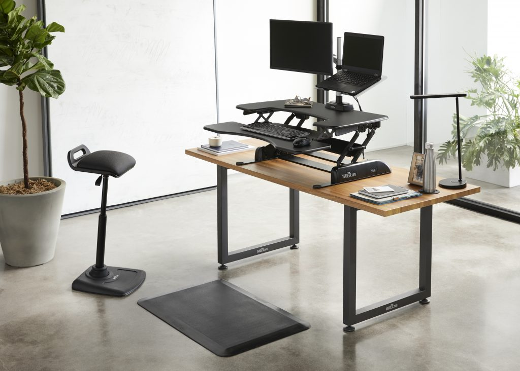 The VariDesk ProPlus 36 has 11 height settings