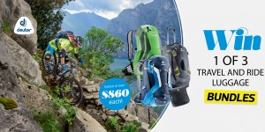 Win 1 of 3 travel and ride luggage bundles