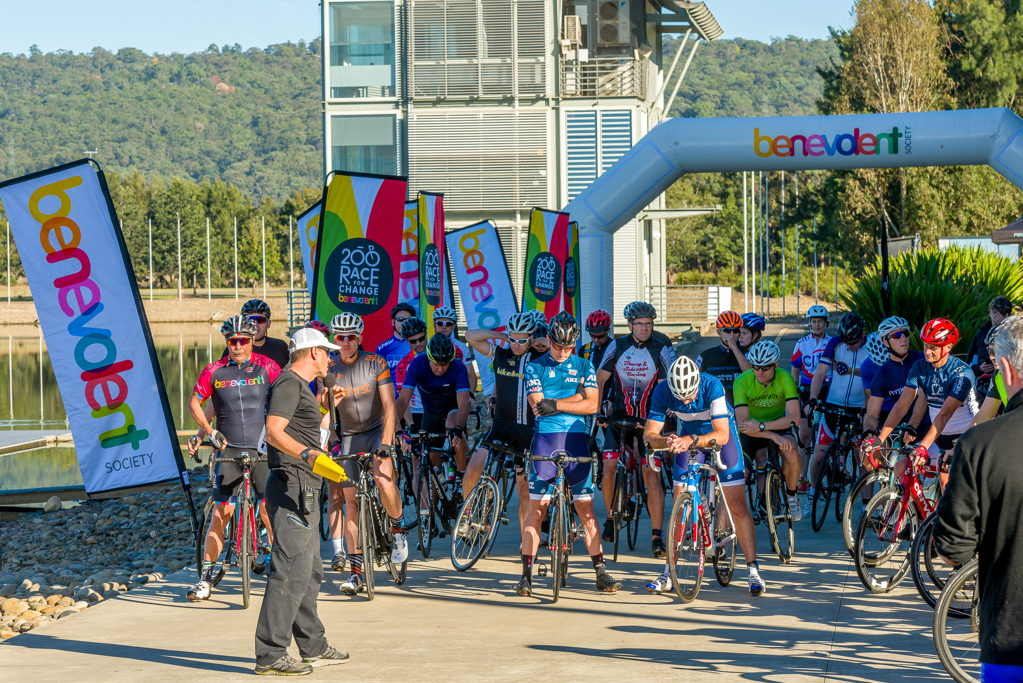 Race for Change: Is this Australia's fastest charity cycling event?