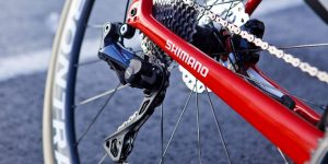 Shimano head off-piste with Ultegra RX800