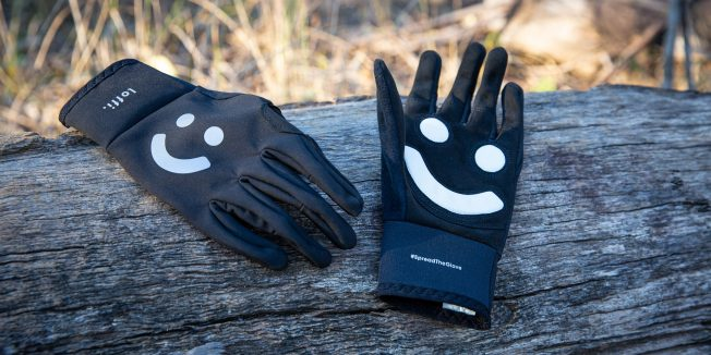 Loffi gloves: Cycling with a smile