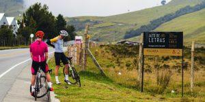 Cyclist #43: Alto de Letras, longest climb on Earth