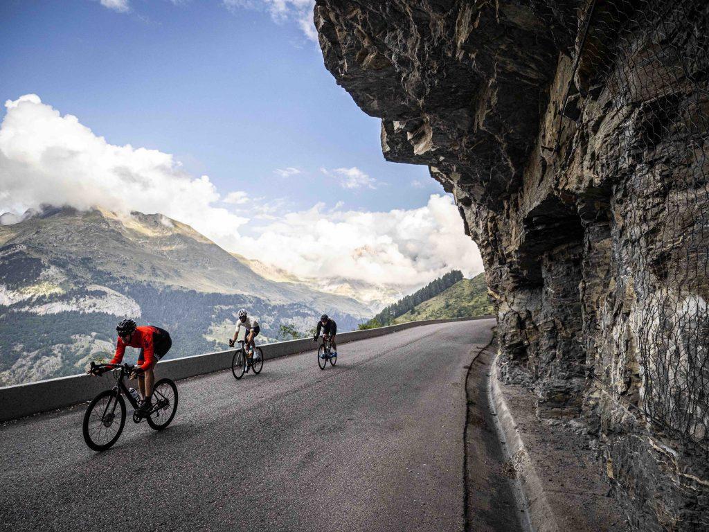 Cyclist Pyrenees