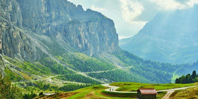 Big Ride Italy – The garden in the mountain
